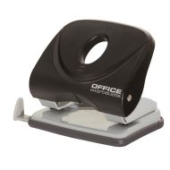 Perforator OFFICE Products din plastic si metal, 30 coli, negru