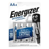 Baterii Energizer Ultimate Lithium R6, AA, 1.5 v, 4 buc/set