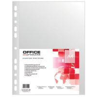 Folie protectie OFFICE Products, A4, coaja portocala, 40 microni, 100 file/set