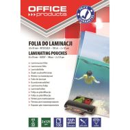 Folie laminare OFFICE Products, 65 x 95 mm, 2 x 125 microni, 100 buc/top