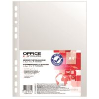 FOLIE PROTECTIE OFFICE PRODUCTS A4 CRISTAL 30 MIC 100/SET