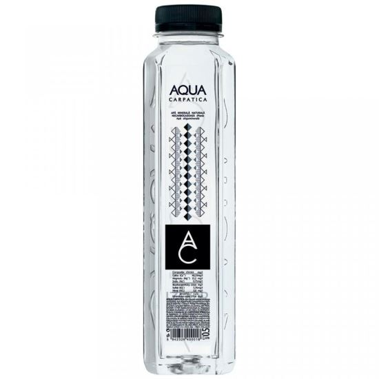 AQUA CARPATICA apa plata 500 ml, bax 12 x Pet