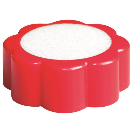 Buretiera din plastic OFFICE Products, 60 mm, rosu
