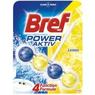 Odorizant toaleta Bref Wc Power Aktiv Lemon, 4 bile, 51 gr